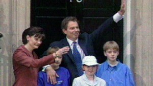 VIDEO: Tony Blair Elected Prime Minister of U.K.