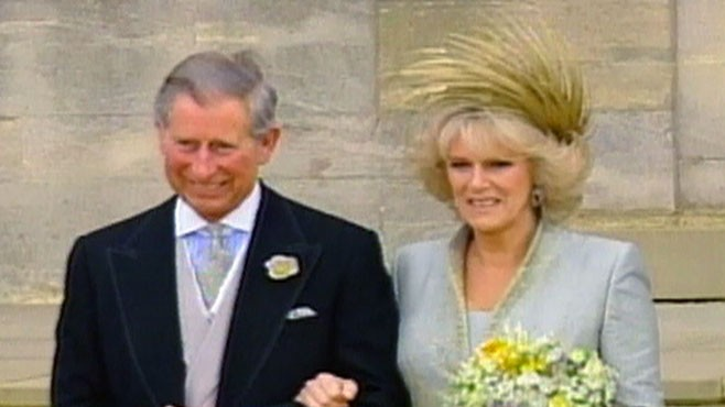 VIDEO: Prince Charles Marries Camilla 2005