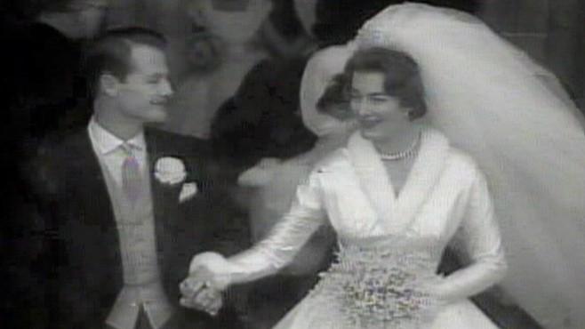 jan 13 1960 lady pamelas wedding video abc news