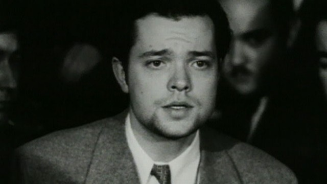 "VIDEO: Welles tells reporters the ""profound effect amongst radio listeners"" came as a surprise."