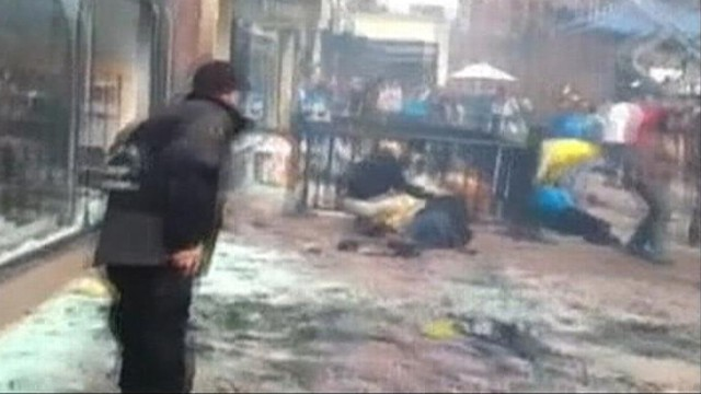 Video: Video Captures Chaos After Marathon Blasts