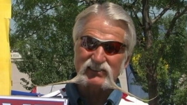 VIDEO: Utah Mayor, Wife Face Off in Mustache Vote