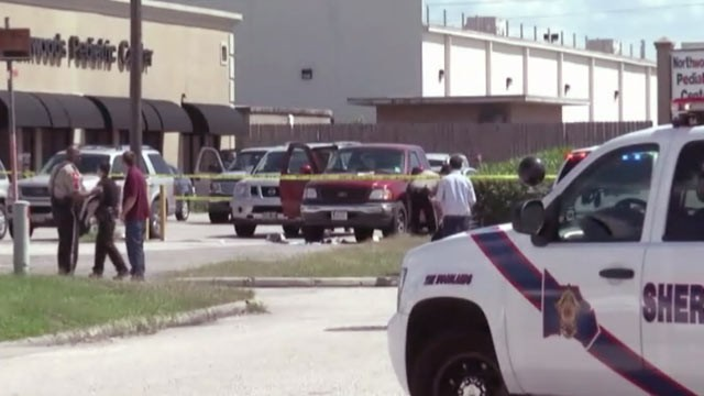 PHOTO: A woman was shot multiple times in the parking lot of a pediatrician's office in Montgomery County, and then her newborn was kidnapped.