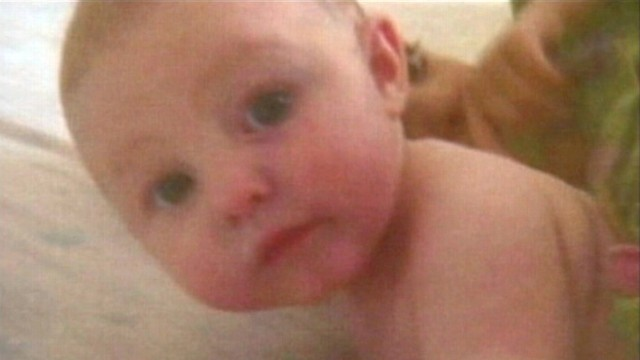 VIDEO: Sean Phillips is suspected of kidnapping his four-and-a-half-month-old daughter.