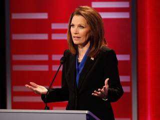 Michele Bachmann in Fight for Seat