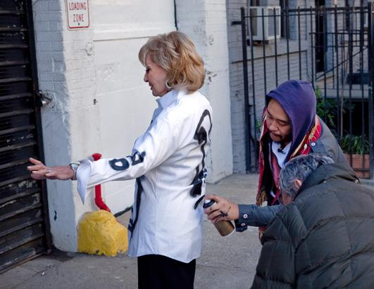 Barbara Walters Interviews Graffiti Artist David Choe