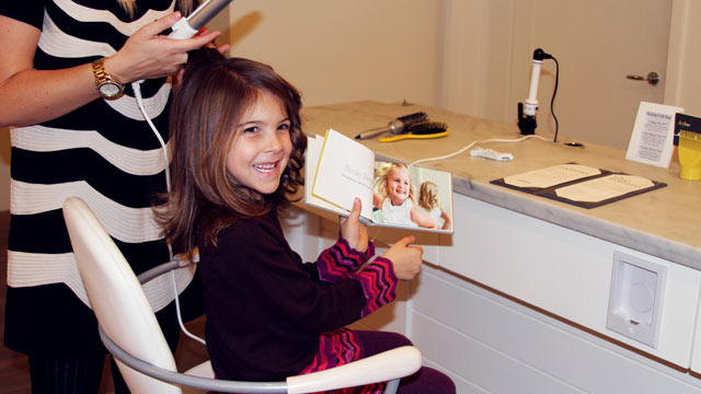 beauty salon services for kids are full hair nail and On abc beauty salon