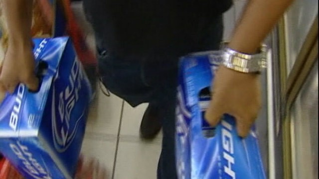 PHOTO: A Houston convenience store clerk shot and killed a man for stealing several 12-packs of beer.