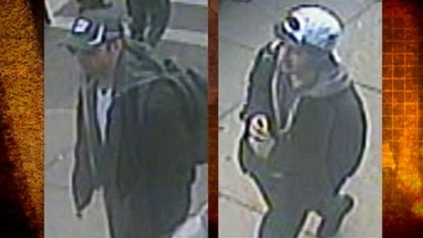 Law enforcement releases video and pictures of the two suspects, Dzhokhar and Tamerlan Tsarnaev.
