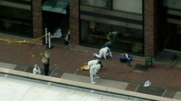 FBI task force begins forensic evidence recovery effort.