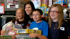 PHOTO: A New Jersey classroom raised money to buy gifts for their pen pals at Briarwood Elementary in Oklahoma who lost everything in a tornado.