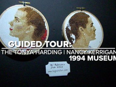 Take a Tour of the New Tonya Harding and Nancy Kerrigan Museum