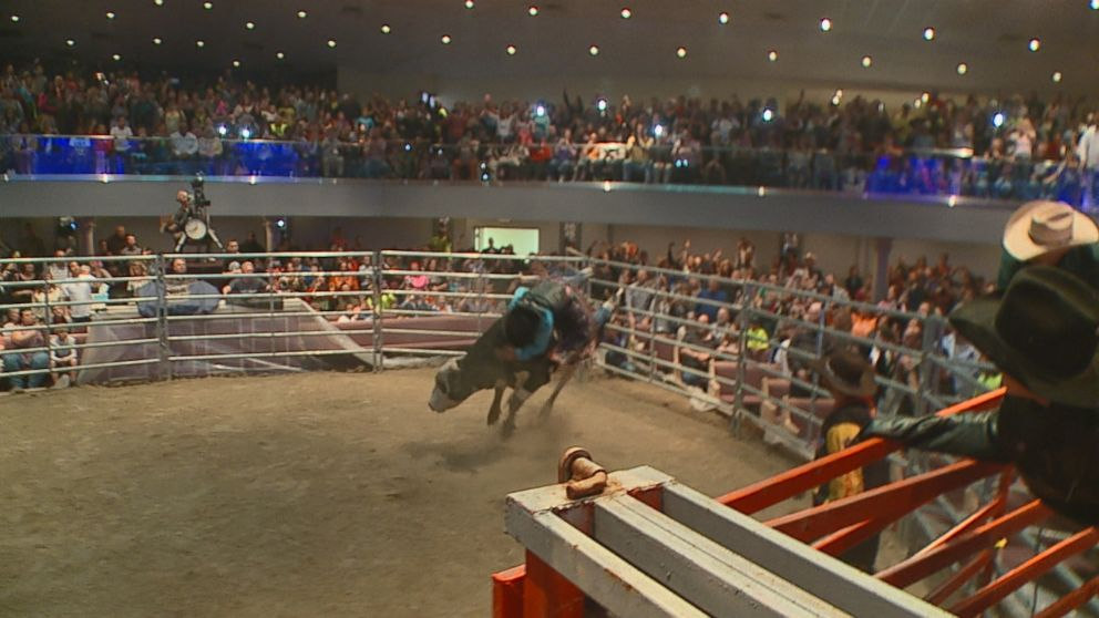 Ohio Pastor Rides Bulls Inside His Church To Attract New