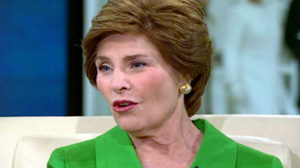 Laura Bush on Oprah