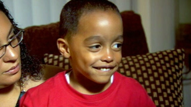 PHOTO: Roilati Pettiford, 3, was able to find his way back to his father by knocking on a stranger's door after his dad's car was hijacked while he was in the back seat.