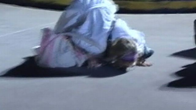 Girl Disembarks Cruise Ship Kisses The Ground Video Abc