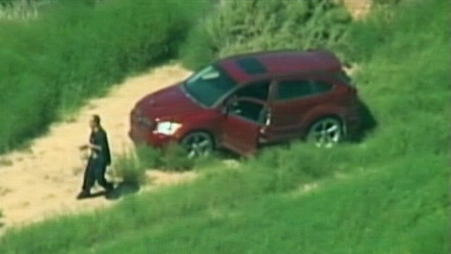 Video: Chase Suspect Appears to Shoot Himself on Live TV