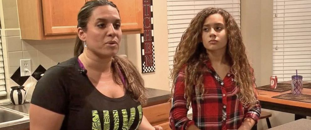 PHOTO: Jenny Fallaw said she was upset that her daughter would have to straighten her hair for competition.