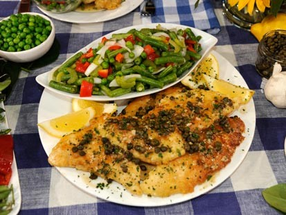 PHOTO: Trisha Yearwoods Chicken Piccata