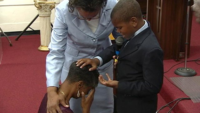 PHOTO: The 11-year-old boy from Temple Hills, Md., said he was just 7 years old when he realized he wanted to become a preacher.