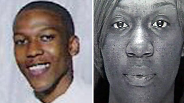 PHOTO: Corey White, left, and ex-girlfriend London Eley are seen in these undated file photos.