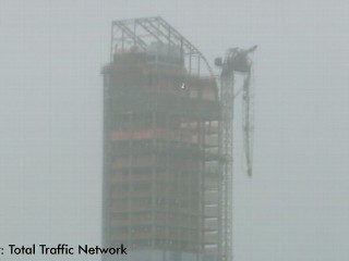 Watch: Hurricane Sandy: NYC Crane Dangles in Storm Winds