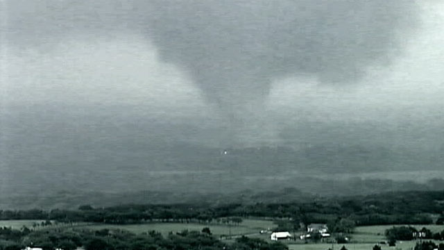 PHOTO: A Deadly tornado, seen here, ripped through Texas April 3, 2012.