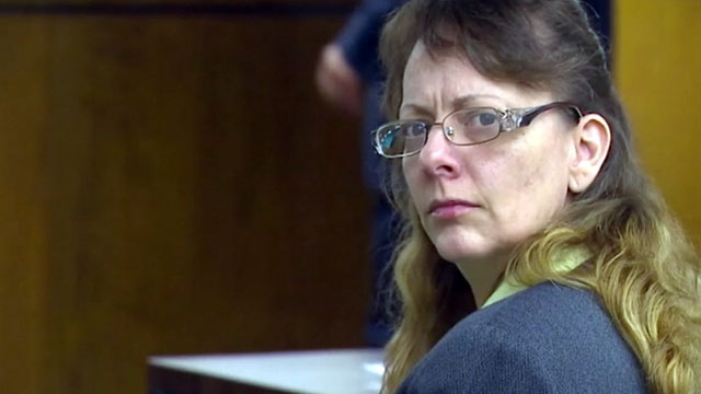 PHOTO: Renee Bishop-McKea, 44, is on trial for allegedly trying to saw off her husbands head while he slept.