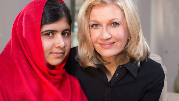 Diane Sawyers Exclusive Television Interview with Malala Yousafzai Airs on the ABC Television Network Starting Monday, October 7
