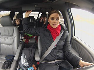Kids Are Terrible Driving Distraction, Study Says