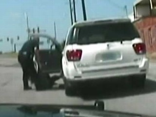 Cop Drags Elderly Woman Dragged From Car