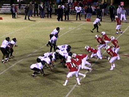 VIDEO: Texas Highschool Football Faith vs. Gainsville