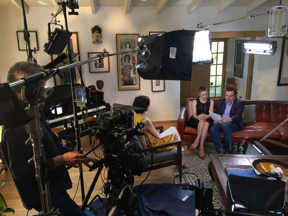 ABC News Elizabeth Vargas interviews Russel and Madga Newman for 20/20.