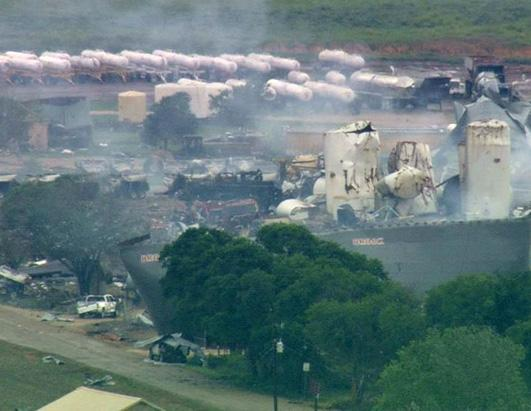 West, Texas Fertilizer Plant Explodes | Photos - ABC News