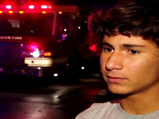 Teen Saves 7-Year-Old From Fire
