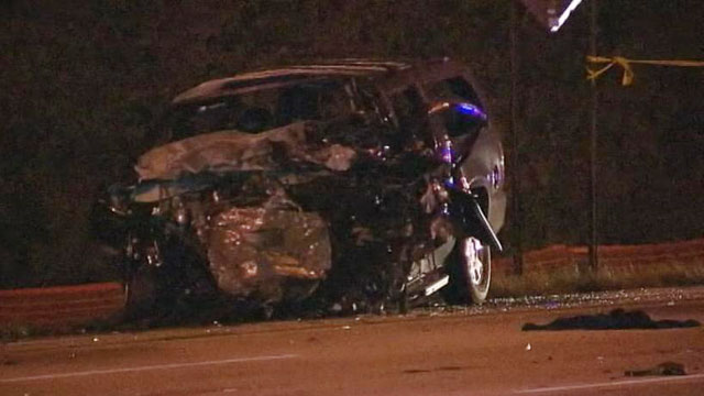 Wrong-Way Driver Kills 4 in Cop Chase