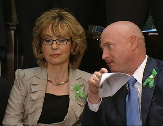 Rep. Gabrielle Giffords' and Mark Kelly's Journey