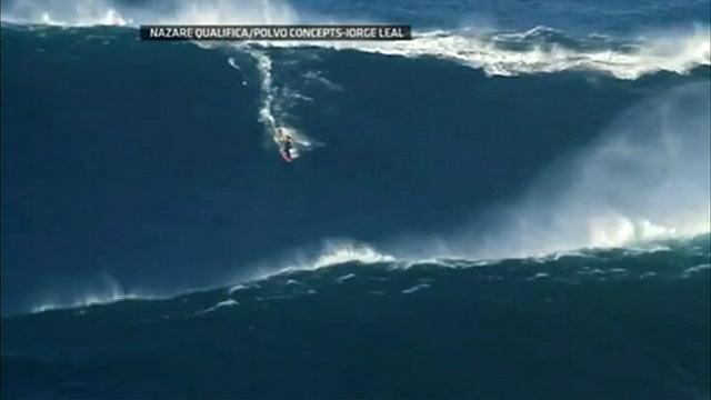 PHOTO: Garrett McNamara, 44, of Hawaii, is part of an elite fraternity of extreme surfers who travel the world seeking gigantic waves.