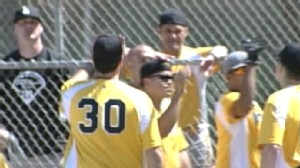Video: Same-sex softball team accused of being too straight.