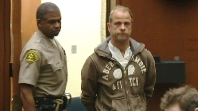 PHOTO: Gerhard Becker appears in Los Angeles Superior Court, where he pleaded not guilty, Feb. 16, 2012.