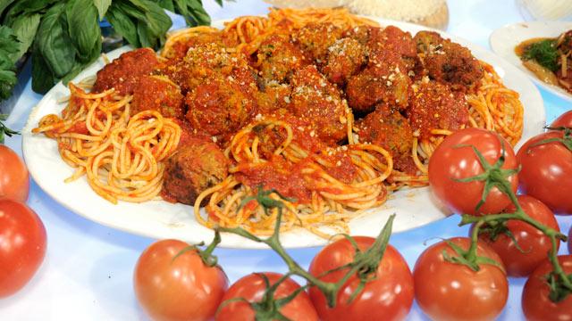 Germanotta Meatballs and Spaghetti Sauce | Recipe - ABC News
