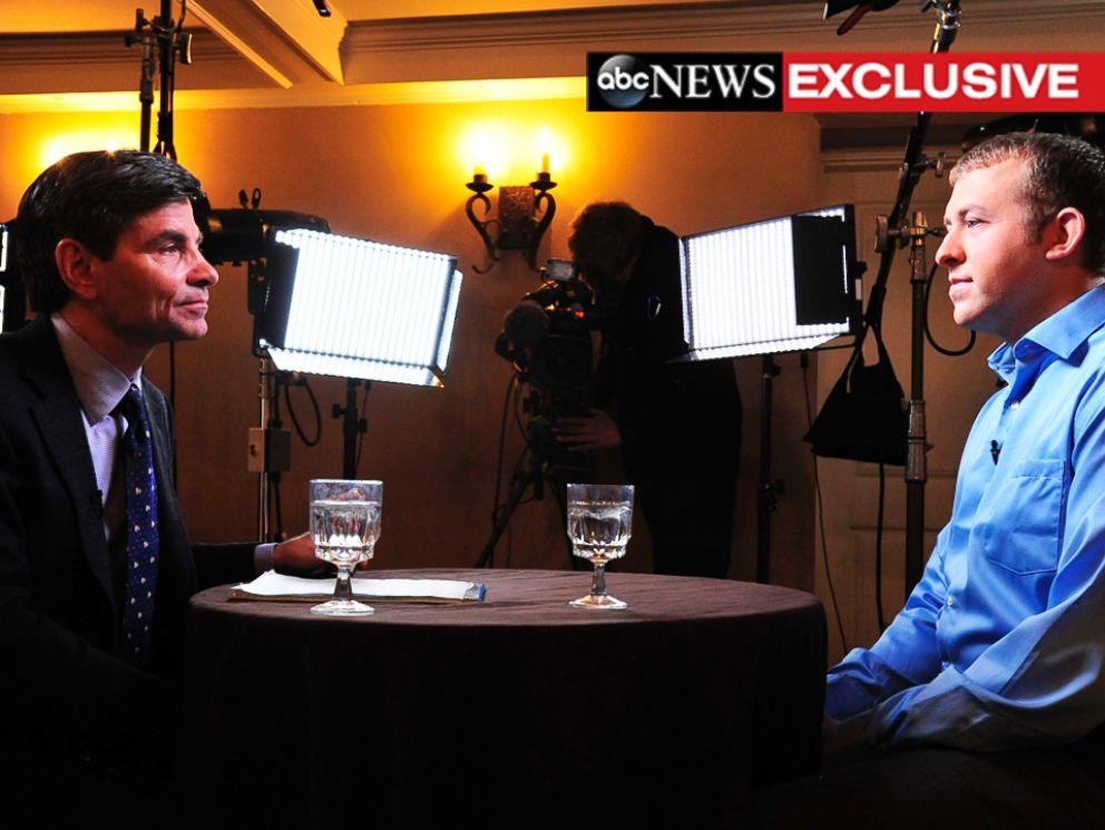 PHOTO: ABC News George Stephanopoulos sat down with Darren Wilson in the Ferguson police officers first interview since the shooting death of Michael Brown.