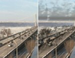 PHOTO: Video of roads, skies, coal-fired plants with global warming gas made visible.