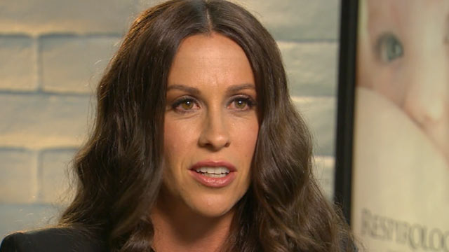 PHOTO: Alanis Morissette is seen on Good Morning America, May 31, 2012.