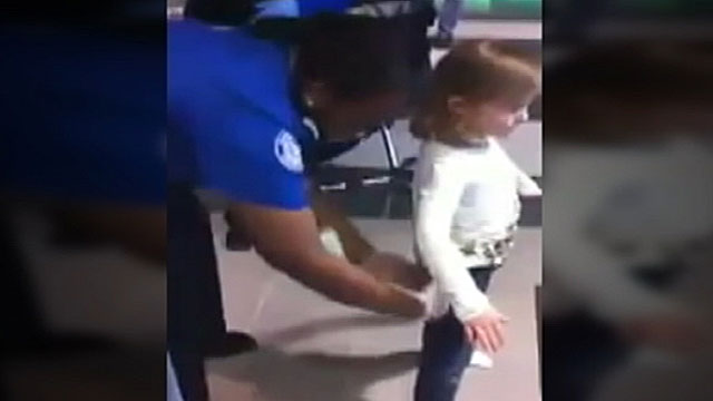 PHOTO: The 6-year-old was pat-down by a TSA agent in April.
