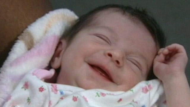 PHOTO: Authorities are using the bottom tooth of the week-old infant abandoned in a plastic bag outside an apartment complex in Cypress, Texas, as a lead in the search for her parents.