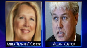 Allan Kustok Accused of Killing Wife