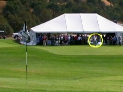 VIDEO: Jason Hargett gets a hole-in-one and wins $1 million.