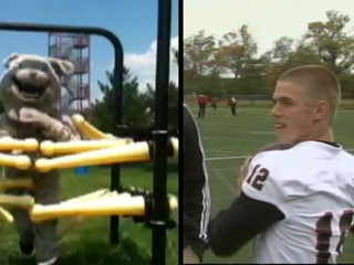 Teen Goes from Team Mascot to QB