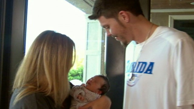 PHOTO: Miami Heat Player Mike Miller Balances Family, Basketball